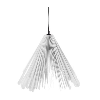 Exkluzív függesztett mennyezeti lámpa, kiszélesedő, fehér  - HABILLÉE